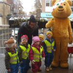 Meeting Pudsey Bear